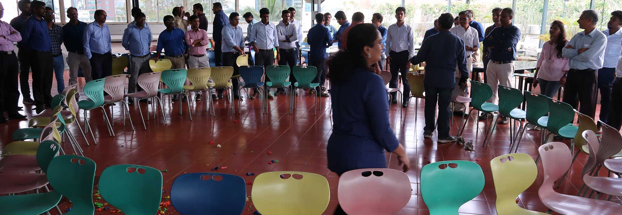 Fun activities conducted at Valdel for New Year